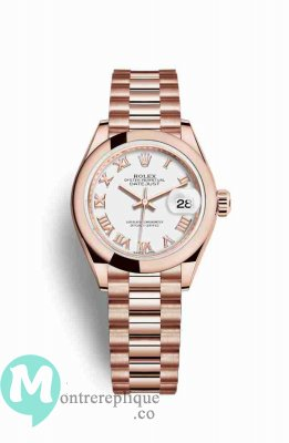 Replique Montre Rolex Datejust 28 Everose 279165
