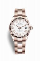 Réplique Montre Rolex Datejust 31 18 ct Everose 278275