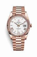 Replique Montre Rolex Day-Date 40 Everose 228235