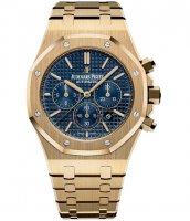 Audemars Piguet Royal Oak 26320BA.OO.1220BA.02 Chronographe 41mm Jaune Or Bleu Cadran
