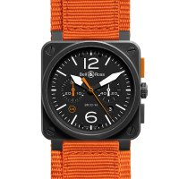 Bell & Ross Aviation BR 03-94 Carbon Orange