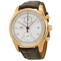 IWC Portuguese Chronographe Classic Automatique Or Rose Homme IW390402