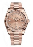 Rolex Day-Date II Champagne Dial Automatique 18K Rose Gold president