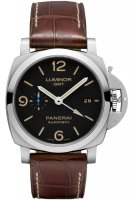 Replique Montre Panerai Luminor 1950 3 Jours GMT Acciaio 44mm PAM01320