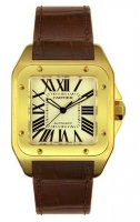 Cartier Santos 100 Homme Replique Montre W20078Y1