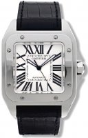Cartier Santos 100 Grand Stainless acier automatique W20073X8