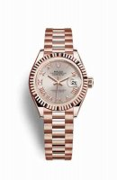 Replique Montre Rolex Datejust 28 Everose 279175