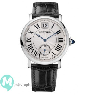 Rotonde de Cartier Large Date Or blanc W1552851