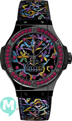 Hublot Big Bang Broderie Sugar Skull 41mm Ceramic 343.CS.6599.NR.1213