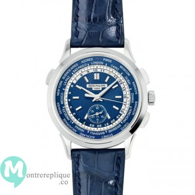 Patek Philippe Complications World Time Blanc Or Hommes 5930G-001
