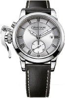 Graham Chronofighter 1695 Argent Chronograph Homme 2CXAY.S05A