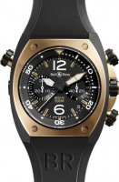 Bell & Ross Marine Chronographe Homme BR 02-94 Or rose & Carbon
