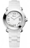 Chopard Happy Sport Round Quartz 36mm Femme 278475-3016