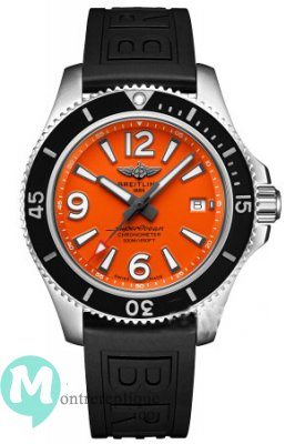 Réplique Montre Breitling Superocean II 42 Acier Orange Dial A17366d71o1s1