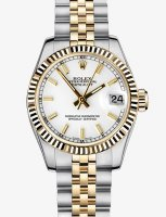 Rolex Datejust 178273 31mm Steel and or jaune Fluted Bezel Oyster