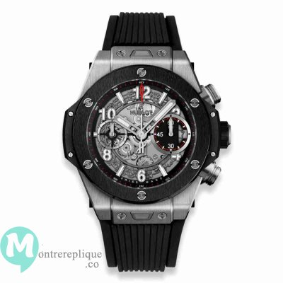 Réplique Montre Hublot Big Bang Unico Ceramique 42mm 441.NM.1170.RX