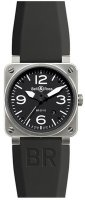 Bell & Ross Aviation BR 03-92 Steel Hommes Automatique