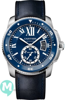 Calibre de Cartier Diver Bleu 42 mm WSCA0010