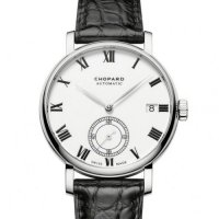Chopard Classic Manufacture Cadran Blanc 18K Or rose Automatique 161289-5001