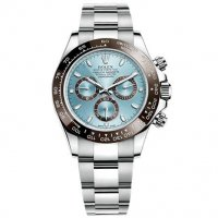 Rolex Cosmograph Daytona Blue Ice Dial Platinum 116506IBLSO