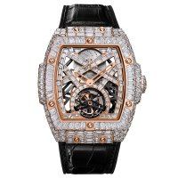 Hublot Masterpiece MP-06 Haute Joaillerie pleine Baguette King Gold 906.OX.9000.LR.9904