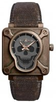 Bell & Ross Aviation BR 01 Skull Bronze