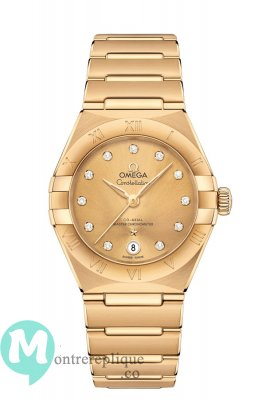 Copie Montre OMEGA Constellation or jaune 131.50.29.20.58.001