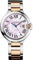 Ballon Bleu de Cartier 36MM Rose cadran en nacre W2BB0011