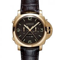 Panerai Luminor 8 Days Rattrapante Cadran marron Homme PAM00319