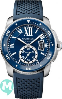 Calibre de Cartier plongeur blue Replique Montre WSCA0011