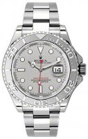 Rolex Yachtmaster acier inoxydable and Platinum 16622