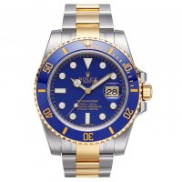 Rolex Submariner cadran bleu automatique 116613LB-97203