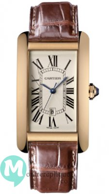 Cartier Tank Americaine Homme Replique Montre W2609156