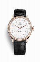 Réplique Montre Rolex Cellini Time 18 ct Everose 50505
