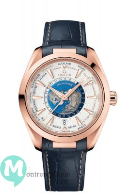 Copie Montre OMEGA Seamaster Worldtimer 220.53.43.22.02.001