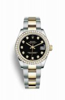 Replique Montre Rolex Datejust 31 Jaune Roles jaune 18 ct 178383