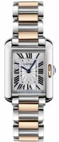 Cartier Tank Anglaise Small Or rose and Acier inoxydable Femmes W5310036