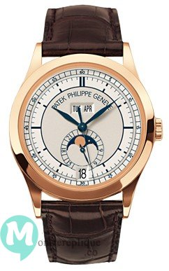 Patek Philippe Complicated Annual Calendar Or rose Hommes 5396R