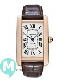 Cartier Tank Americaine Homme Replique Montre W2609856