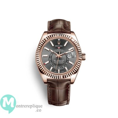 Copie Montre Rolex Sky-Dweller M326135-0008