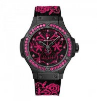 Hublot Big Bang Broderie Sugar Skull Fluo Hot Pink 41 mm 343.CP.6590.NR.1233