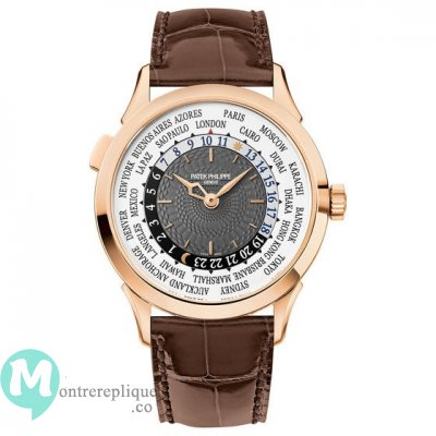 Patek Philippe Complications World Time Or rose Hommes 5230R-001
