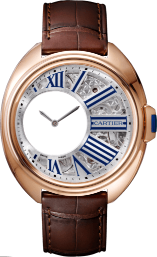 Cle de Cartier Mysterious Hours Replique Montre WHCL0003 WHCL0002