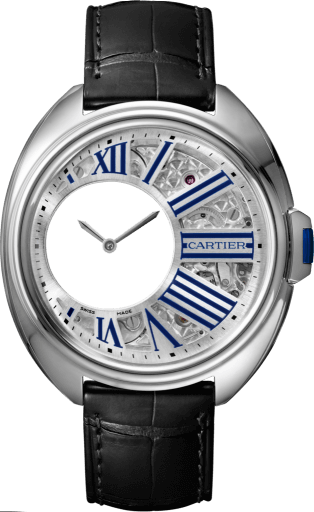 Cle de Cartier Mysterious Hours Replique Montre WHCL0003