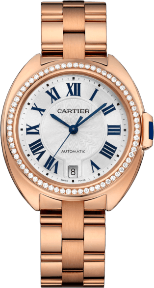 Cle De Cartier automatique 35mm mesdames Replique Montre