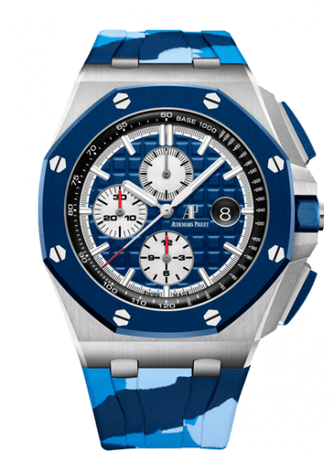 Audemars Piguet Royal Oak Offshore 42 Inox/Ceramique/Marine/Caoutchouc 26400SO.OO.A335CA.01 Montre Replique