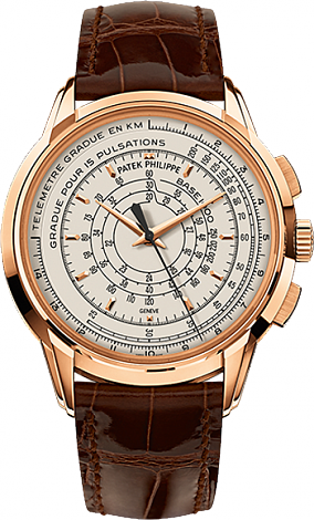 Patek Philippe 175th Anniversary Multi-Scale Chronographe 5975R-001