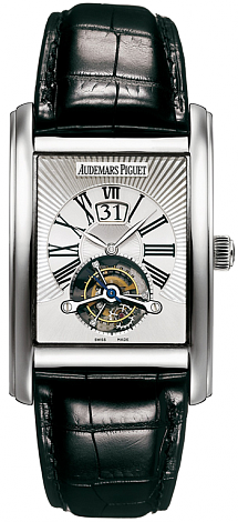 Audemars Piguet Edward Piguet Tourbillon Large Date 26009BC.OO.D002CR.01