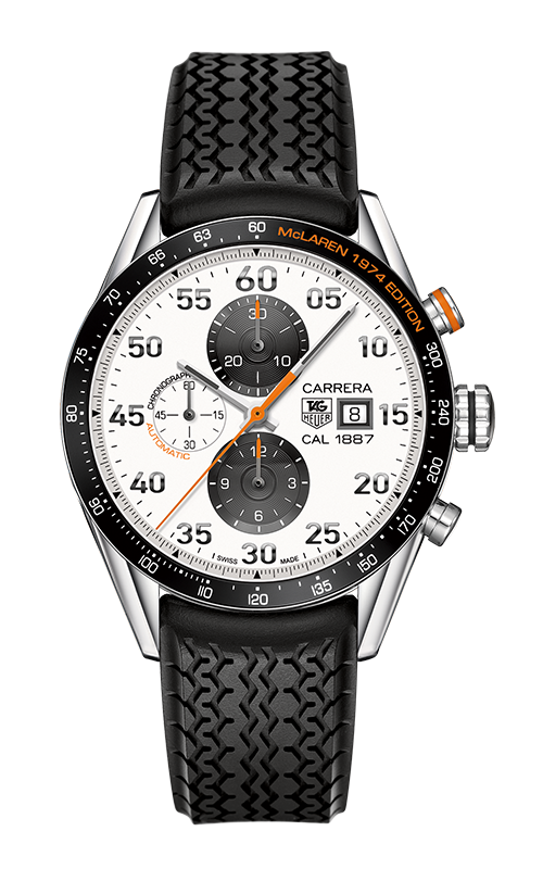Tag Heuer Carrera Calibre 1887 Chronographe McLaren 1974 edition CAR2A12.FT6033