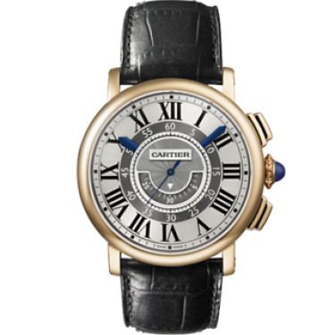 Rotonde de Cartier Central Chronographe Or rose W1555951